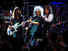 Brian May & Alice Cooper @ the Sunflower Jam