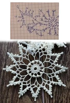 Crochet Tree, Crochet Angels, Crochet Stars, Crochet Mandala, Crochet Motif, Crochet Crafts, Crochet Snowflake Pattern, Christmas Crochet Patterns, Crochet Snowflakes