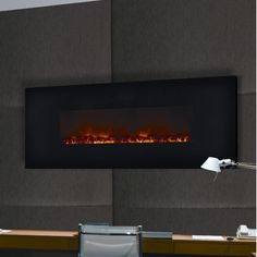 38 best wall hanging fireplaces images electric fireplaces wall rh pinterest com