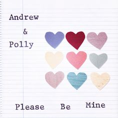 Please Be Mine by Andrew & Polly   https://www.youtube.com/watch?v=yL_ViPWs0wc