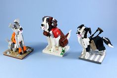 While the power of some dogs is in their incredible cuteness, other dogs — though certainly no less adorable in many ways — have been bred to meet the demanding needs of the humans that they work with. LEGO 7 follows up his amazing LEGO hot dog food truck with a trio of pooches who …