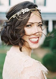 Flower Crown Alternatives: Our New Wedding Headpiece Obsessions