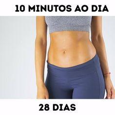 28 dias para ter o corpo que você sonhar Um exercício que queima 6 vezes mais calorias que uma corridinha ...