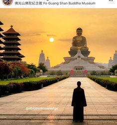 Fo Guang Shan Monastery in Kaohsiung, Taiwan Relaxation Meditation, Meditation Music, Relaxation Pour Dormir, Buddhist Nun, White Cliffs Of Dover, Buddha Face, Gautama Buddha, Buddha Buddhism, Celestial