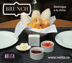 Los domingos en Nolita son a tu ritmo, con nuestro sabor. Brunch de 10AM a 2PM www.nolita.co