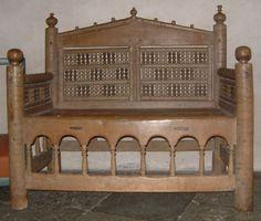 12th century Bishop's Chair, Gamla Uppsala