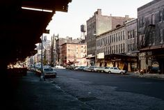 Fourteenth Street between Ninth and Tentth Avenues, facing East, 1976. Photo by Eugene Gannon
