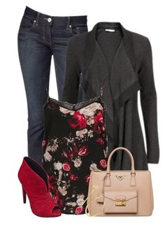 fall and winter outfits 2016 Look Fashion, Winter Fashion, Fashion Outfits, Fashion Trends, Fashion Ideas, Outfits 2016, Cute Outfits, Floral Outfits, Older Women Fashion