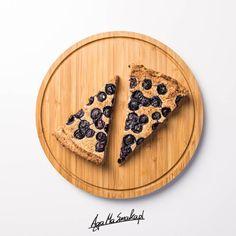 Placek z kaszy gryczanej - bez dodatku tłuszczu, czteroskładnikowy ⋆ AgaMaSmaka - żyj i jedz zdrowo! Vegan Sweets, Food And Drink, Baking, Recipes, Foodies, Recipe, Gluten Free, Bakken, Recipies