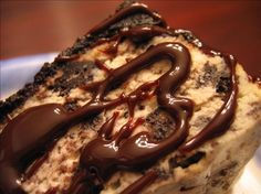 Hot Fudge Oreo Gourmet Cheesecake!  Yummy...