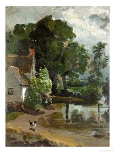 John Constable - Willy Loft's House, near Flatford Mill