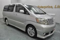 Japanese vehicles to the world: 2002 Toyota Alphard V for Tanzania to Dar es salaa...