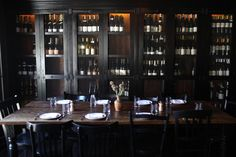 Upstairs there is a dining room with a feel of old Spain, replete with large tables and wooden wine cases.