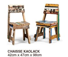 African furniture upcycling design. ARTLANTIQUE - Collection