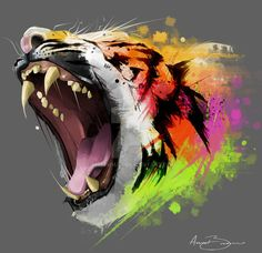Resplendent Roar by RhythmAx