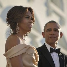 Michelle Obama wearing Le Vian at a State dinner with Barak Obama, looking very chic and sophisticated in a nude dress. How to get jewellery on the red carpet worn by celebrities for events and parties with celebrity placement: http://www.thejewelleryeditor.com/jewellery/interview/dorazio-secrets-to-red-carpet-jewellery-celebrity-placement-success/ #jewelry