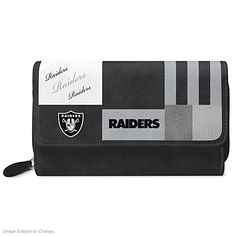 For The Love Of The Game Oakland Raiders Wallet