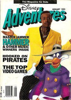 """25 Very '90s """"Disney Adventures"""" Magazine Covers"""