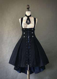 Foxtrot -Farron Covenant- Gothic Lolita Corset Skirt