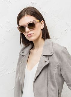 Caramel sunglasses - Sun glasses - ACCESSORIES - Uterqüe Portugal
