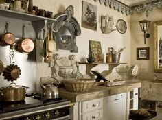 Dream cottage kitchen