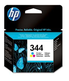 HP 344 Tri-color Original Ink Cartridge (C9363EE) Pages: 560, Standard capacity Blister multi tag (Barcode EAN = 0829160799292). http://www.comparestoreprices.co.uk/december-2016-6/hp-344-tri-color-original-ink-cartridge-c9363ee-.asp