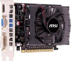 MSI nVidia N730-2GD3 GeForce GT 730 2048Mb 128bit DDR3 700/1800 DVI/HDMI/CRT/HDCP  — 3690 руб. —