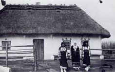 First Wave of Ukrainian Immigration to Canada, 1891-1914. House of Stefan Dubets. 1914 Smoky Lake, Alberta, Canada