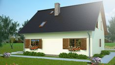 ujecie05 House Plans, Outdoor Structures, Mansions, House Styles, Home Decor, Decoration Home, Manor Houses, Room Decor, Villas