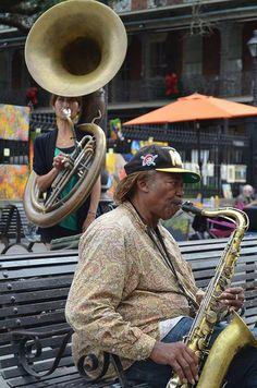 New Orleans #NOLA Street Music http://nola.tw/Ox