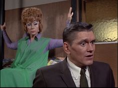 Bewitched, Crone of Cawdor, Note: Filmed January 31, 1967.Season 3, E 27, Agnes Moorehead,  Dick York