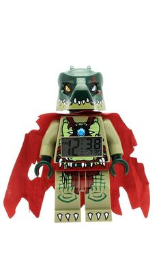 Lego Legends of Chima Cragger Mini-Figure Light Up Alarm Clock #LEGO