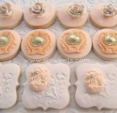 Cream & Peach Designs