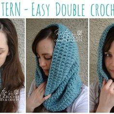Free Easy Double Crochet Cowl Pattern