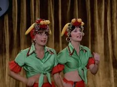 Laverne and Shirley.  :D