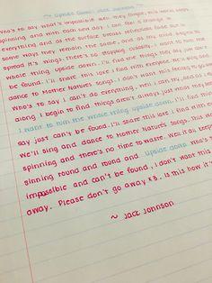 najlepsze pismo świata muszę tak pisać handwriting tips