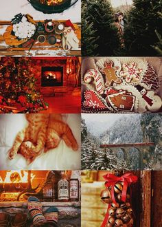 A Gryffindor Winter Christmas Aesthetic, Autumn Aesthetic, Harry Potter Weihnachten, Harry Potter Christmas, Christmas Mood, Christmas Wallpaper, Merry And Bright, Yule, Favorite Holiday