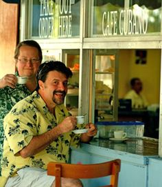 We show you how to order, drink, and make Cuban coffee. Three Guys From Miami: On the web since 1996.