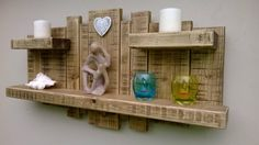 Sculpture Wall ART Shelf Shelves Rustic Light OAK 3 Shelves 3 Feet X 18 Inches | eBay