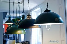 lamparas_industriales_diego_rodriguez - lamps over dining room table
