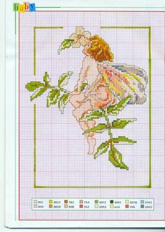no background and part from original Fantasy Cross Stitch, Cross Stitch Fairy, Cross Stitch Angels, Cute Cross Stitch, Cross Stitch Heart, Beaded Cross Stitch, Cross Stitch Flowers, Cross Stitch Designs, Cross Stitch Embroidery