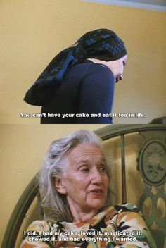 I had my cake and ate it too. Words to live by.