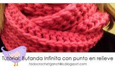 Aprende a tejer una bufanda infinita