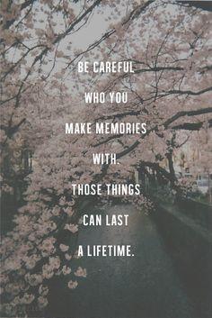 life, care, true, inspir, memories, quot, thing, live, cherry blossoms