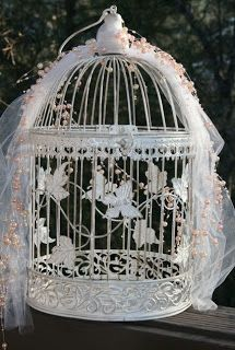 Bella Maison Tresors: Shabby Bird Cages for Weddings and More.....