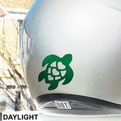Cherry Skull Hyper Reflective Decal Motorcycle Helmet Safety - Vinyl decals for motorcycle helmets
