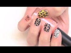 """Pintado de uñas """"Animal Prints"""""""