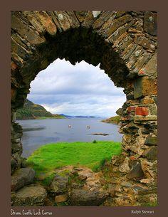 Strome Castle Loch Carron, Scotland