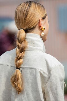 Double-Band Braids: The Hair Trend That's Going Viral   Who What Wear