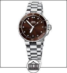 ORIS AQUIS DATE DIAMONDS  ✿ Relojes para mujer - (Lujo) ✿